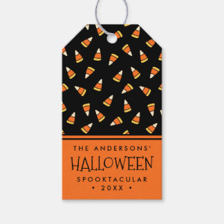 Personalized Halloween Party Candy Corn