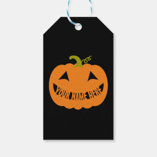 Personalized Halloween Pumpkin