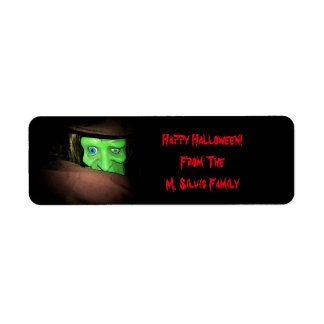 Personalized Halloween Tags Stickers Return Address Label