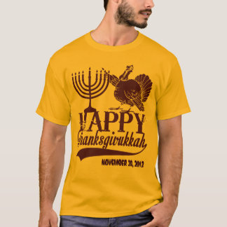 Personalized Happy Thanksgivukkah T-Shirt