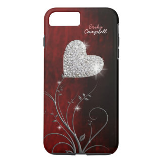 personalized heart girly love iPhone 8 plus/7 plus case