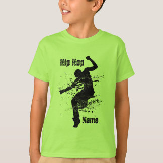 Personalized Hip Hop Dancer T-Shirt
