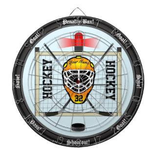 Personalized Hockey Dartboard