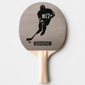Personalized Hockey Ping Pong Paddle