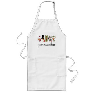 Personalized Holiday Baking Apron