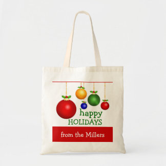 Personalized Holiday Gift Bag