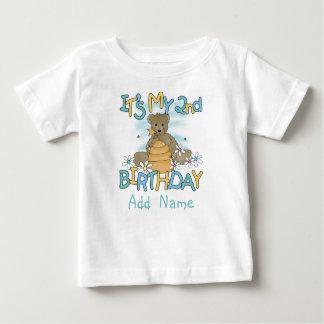 Personalized Honey Bear 2nd Birthday Tshirt