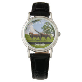 Personalized Horse Watch