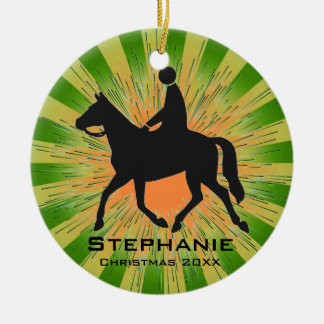 Personalized Horseback Riding Ornament