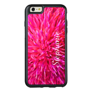Personalized Hot Pink Abstract Apple iPhone 6 Plus