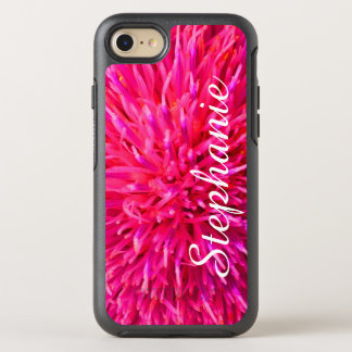 Personalized Hot Pink Abstract Apple iPhone 7