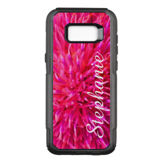 Personalized Hot Pink Abstract Samsung Galaxy S8+