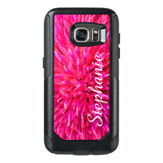 Personalized Hot Pink OtterBox Commuter Galaxy S7 OtterBox Samsung Galaxy S7 Case