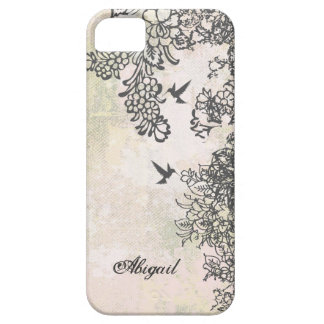 Personalized Hummingbirds & Flowers iPhone 5 Case