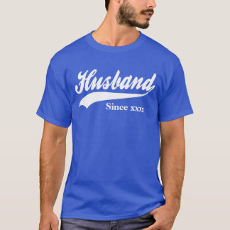 Personalized Husband Since T-Shirt