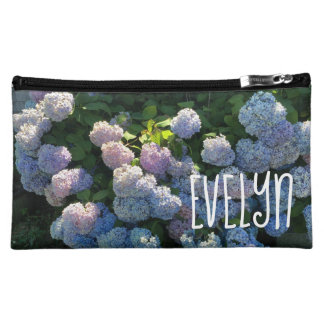 Personalized Hydrangea Costmetic Bag Gift Idea