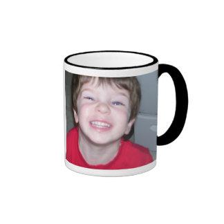 Personalized I Love My Mom Photo Mug