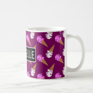 Personalized Ice Cream Cones Coffee Mug
