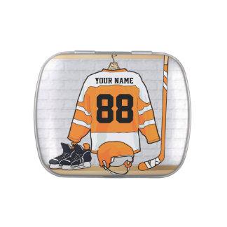 Personalized Ice Hockey Jersey Candy Tin