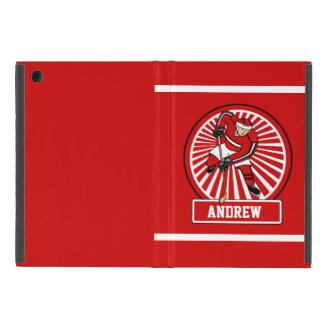 Personalized Ice Hockey Player iPad Mini Case