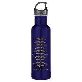 Personalized in Blue 710 Ml Water Bottle