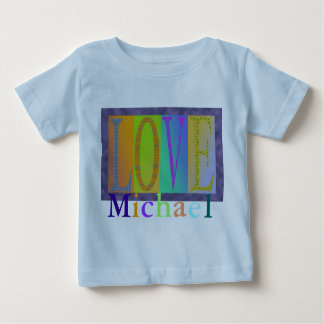 Personalized Infant Love T-shirt