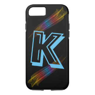 Personalized Initial Shooting Star IPhone Case