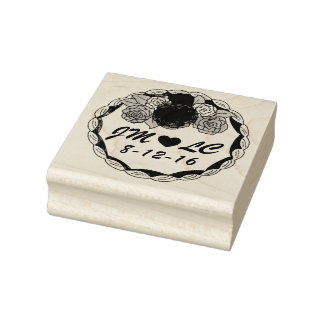 initial rubber stamps self inking stamps. Black Bedroom Furniture Sets. Home Design Ideas
