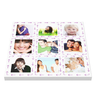 Personalized Instagram Photo Collage Canvas Prints