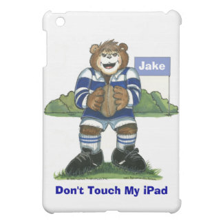 Personalized iPad Case for a Rugy Player