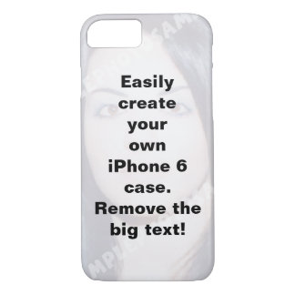 Personalized iPhone 7 case. Make your own! iPhone 7 Case