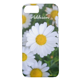 Personalized iPhone 7 Cases Daisy Add Your Text