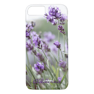 Personalized iPhone 7 Cases Lavender Add Your Text