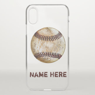 Personalized iPhone Baseball Cases Newest to Older