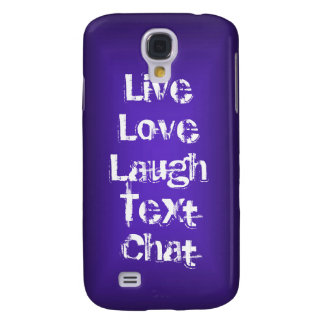 Personalized iPhone case cool purple glow