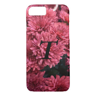personalized iPhone case with flower print