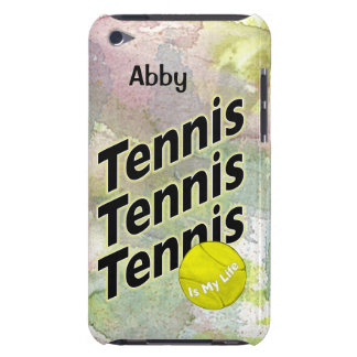 Personalized iPod Case for Tennis Barely There iPod Case