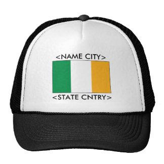 Personalized Ireland Flag Mesh Hat