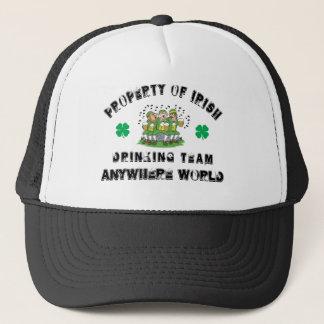 Personalized Irish Drinking Team Cap