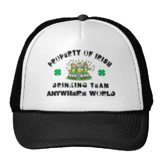 Personalized Irish Drinking Team Cap
