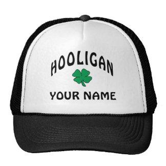 Personalized Irish Hooligan Cap Mesh Hats