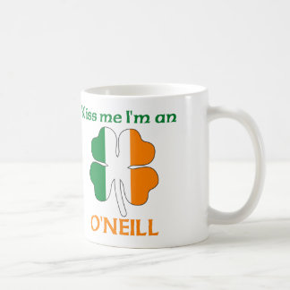 Personalized Irish Kiss Me I m O Neill Coffee Mug