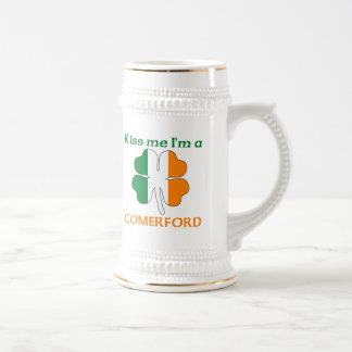 Personalized Irish Kiss Me I'm Comerford Beer Steins