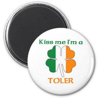 Personalized Irish Kiss Me I'm Toler Fridge Magnets