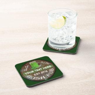 Personalized Irish Pub sign Coasters