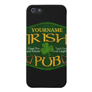 Personalized Irish Pub Sign iPhone 5/5S Case