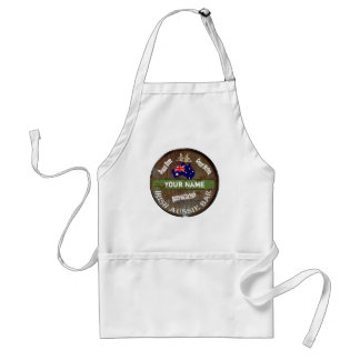Personalized Irish pub sign Standard Apron