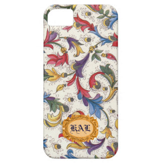 Personalized Italian Florentine Phone Case Case For The iPhone 5