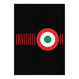 Personalized Italian Invitation