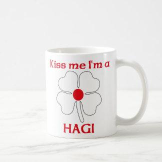 Personalized Japanese Kiss Me I'm Hagi Coffee Mug